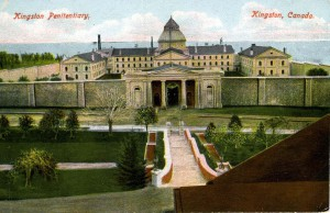 Postcard of Kingston Penitentiary, 1905