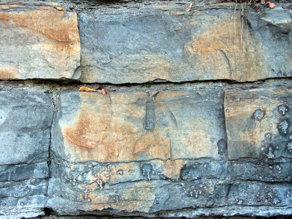 Last Quarry drill marks