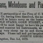 Organs, Melodeons, and Pianos (1879)