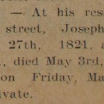 Death of Joseph George (1910)