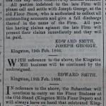 Dissolution of Partnership (1866)