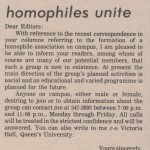 From Queen's Journal in October 1973