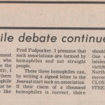 From Queen's Journal in Oct 1973
