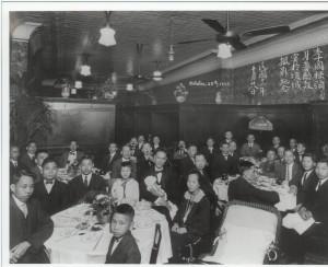 Interior of Grand Cafe