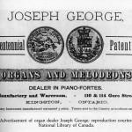 Joseph George Advertisement