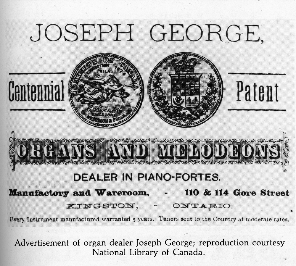 Joseph George Advertisement.