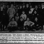 Alfie with Queen's Rugby 1903