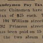 More Laundrymen Pay Tax