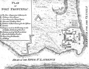 Fort Frontenac en 1758