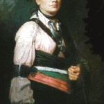 Joseph Brant, painting by George Romney 1776