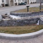Les vestiges du premier Fort Frontenac. Photo: Sophie Perrad