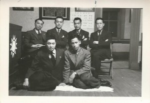 Queen's Chinese Students' Society, 1941-42