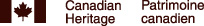 Canadian Heritage - Patrimoine canadienne